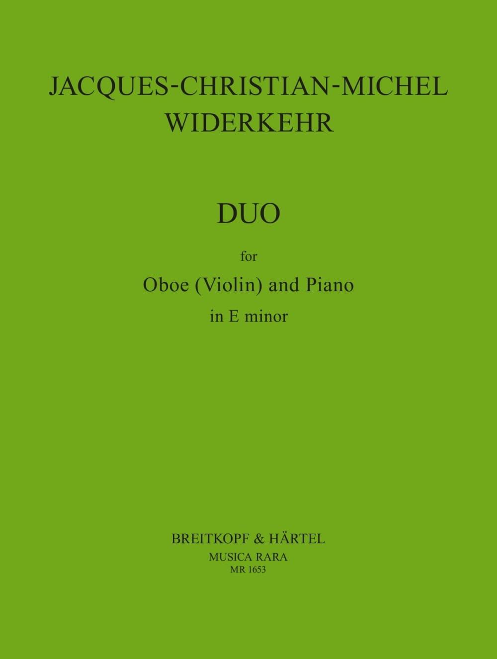 Duo -Oboe Violin piano - laflutedepan.com