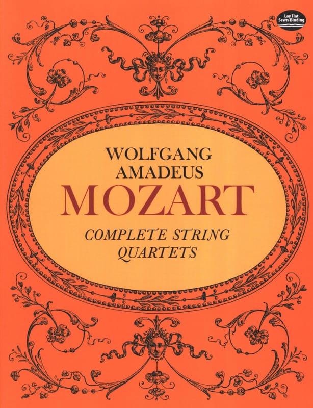 Complete String Quartets - Full Score - MOZART - laflutedepan.com