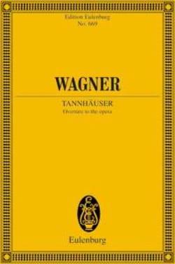 Tannhäuser Ouverture - Conducteur Poche WAGNER Partition laflutedepan