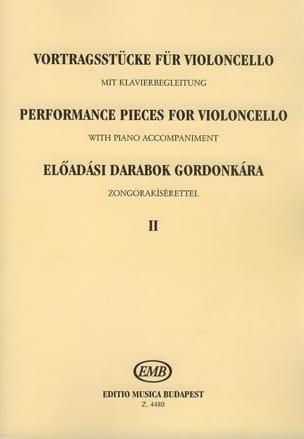 Performance pieces for violoncello, Volume 2 Emöke Csath laflutedepan