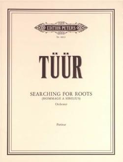 Searching for Roots - Partitur Erkki-Sven Tüür Partition laflutedepan