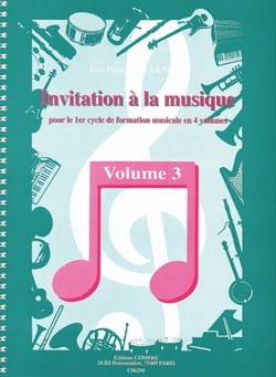 Invitation à la Musique - Volume 3 laflutedepan