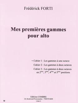 Mes Premières Gammes Pour Alto Volume 1 Frédérik Forti laflutedepan