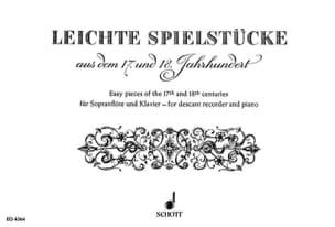 Leichte Spielstücke Kaestner Heinz / Lechner Lothar laflutedepan