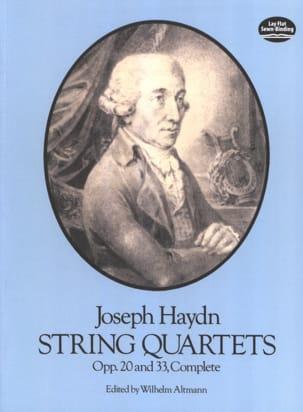 String Quartets Op. 20 et 33 HAYDN Partition laflutedepan