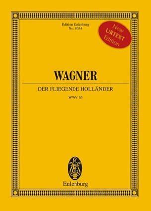 Le Vaisseau Fantôme - Conducteur WAGNER Partition laflutedepan