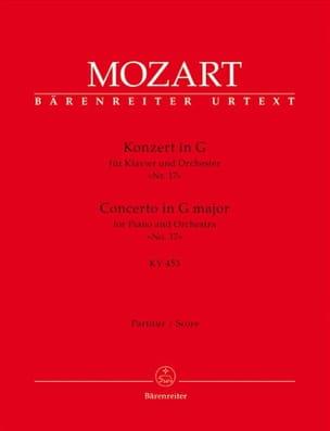 Klavierkonzert Nr. 17 G-Dur KV 453 - Partitur MOZART laflutedepan