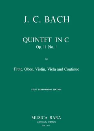Quintet in C op. 11 n° 1 -Flute oboe violin viola Bc laflutedepan