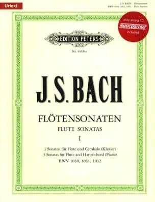Flötensonaten Volume 1 BACH Partition laflutedepan