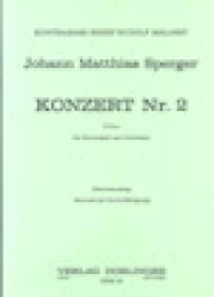 Konzert Nr. 2 D-Dur - Johann Matthias Sperger - laflutedepan.com