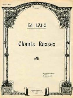 Edouard Lalo - Canzoni russe - Partition - di-arezzo.it