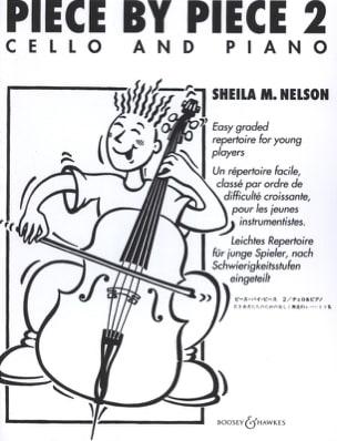 Piece By Piece Cello Vol.2 Sheila M. Nelson Partition laflutedepan