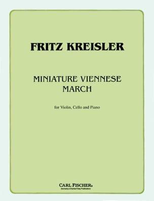 Miniature viennese march -Violin cello piano KREISLER laflutedepan