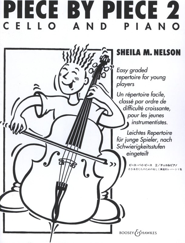 Piece By Piece Cello Vol.2 - Sheila M. Nelson - laflutedepan.com