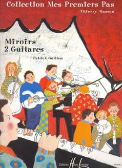 Miroirs - 2 Guitares - Patrick Guillem - Partition - laflutedepan.com