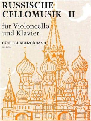 Russische Cellomusik, Volume 2 Werner Thomas-Mifune laflutedepan