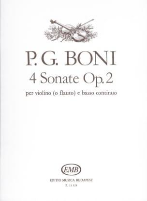 4 Sonates op. 2 - Violon - laflutedepan.com