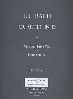 Quartet in D major -Flute string trio String quartet - Parts laflutedepan