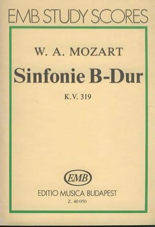 Symphonie Nr. 33 B-Dur KV 319 - Partitur MOZART Partition laflutedepan