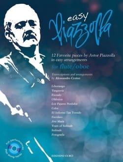 Easy Piazzolla - Flûte ou Hautbois Astor Piazzolla laflutedepan
