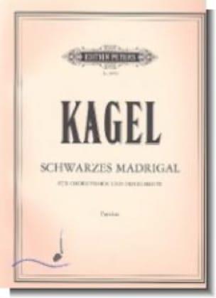 Schwarzes Madrigal - Partitur - Mauricio Kagel - laflutedepan.com