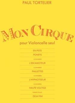 Mon Cirque Paul Tortelier Partition Violoncelle - laflutedepan