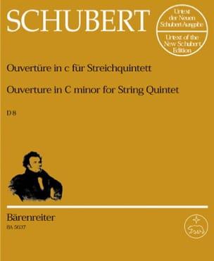 Ouvertüre in c-moll D. 8 für Streichquintett -Stimmen laflutedepan