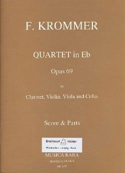 Quartet in Eb op. 69 -Clarinet violin viola cello - Score + Parts laflutedepan