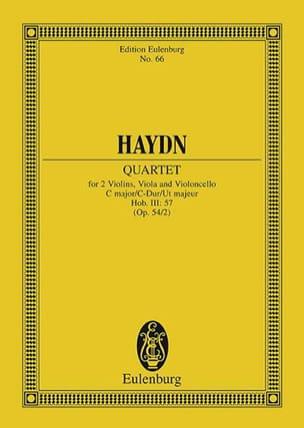 Streich-Quartett C-Dur op. 54 n° 2 - HAYDN - laflutedepan.com