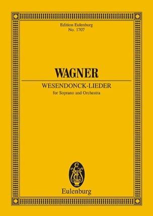 Wesendonck-Lieder Wwv 91 - Poche WAGNER Partition laflutedepan