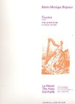 Facettes, 8 Pieces pour Grande Harpe ou Harpe Celtique laflutedepan