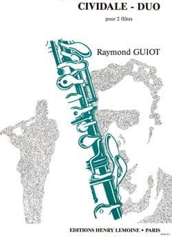 Cividale - Duo - 2 Flûtes Raymond Guiot Partition laflutedepan