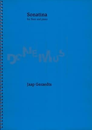Sonatina - Flute piano Jaap Geraedts Partition laflutedepan