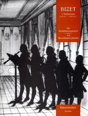L'Arlésienne - Suite n° 1 -Holzbläserquintett - Partitur + Stimmen - laflutedepan.com