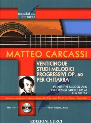 25 Etudes Mélodiques, op. 60 - Guitare Matteo Carcassi laflutedepan