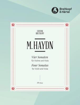 4 Sonates - Violon et Alto Michael HAYDN Partition 0 - laflutedepan