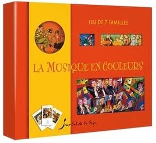 La Musique en Couleurs - Jeu des 7 familles - Jeu - laflutedepan.com