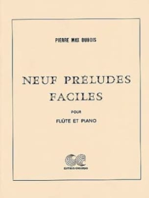 Neuf préludes faciles - Pierre-Max Dubois - laflutedepan.com