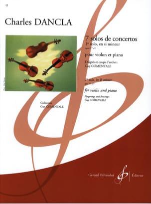 DANCLA - Solo Concerto No. 1 op. 77 in B minor - Partition - di-arezzo.co.uk
