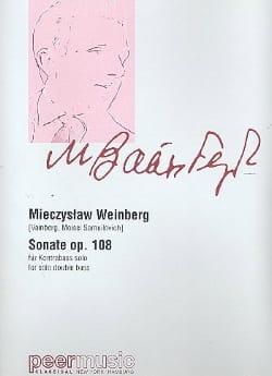 Sonate n° 1 Op. 108 - Contrebasse Mieczyslaw Weinberg laflutedepan