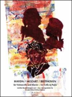 Haydn, Mozart, Beethoven pour Violoncelle et Piano HAYDN laflutedepan
