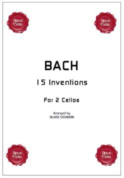 15 inventions pour 2 cellos BACH Partition Violoncelle - laflutedepan