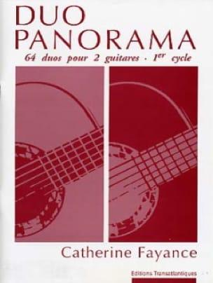 Duo Panorama - Catherine Fayance - Partition - laflutedepan.com