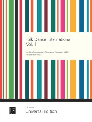 Folk Dance International - 1 - Blockflötenquartett laflutedepan