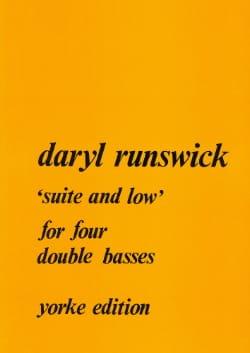 Suite and low Daryl Runswick Partition Contrebasse - laflutedepan