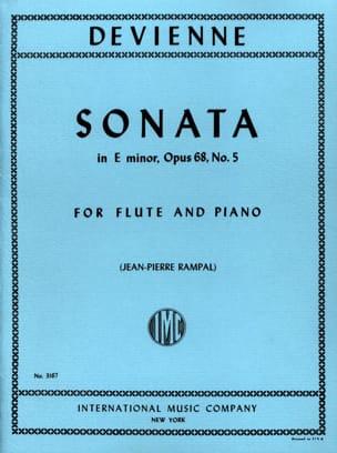 Sonata in E minor op. 68 n° 5 - Flute piano DEVIENNE laflutedepan