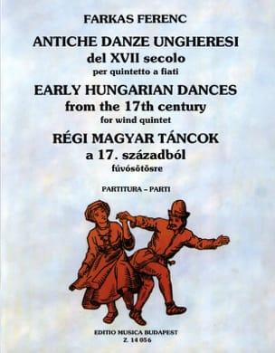 Antiche Danze Ungheresi Del 17. Secolo -quintetto a Fiati laflutedepan