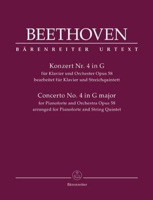 Concerto n° 4 en Sol M., op. 58 - Sextuor Cordes et piano laflutedepan