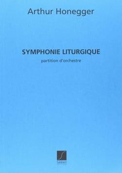 Symphonie liturgique HONEGGER Partition Grand format - laflutedepan