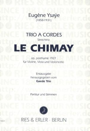 Trio à cordes Le Chimay op. posth. -Partitur + Stimmen laflutedepan